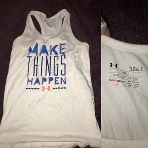 Youth large Under Armour tank